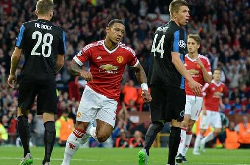 Manchester United 3-1 Brujas