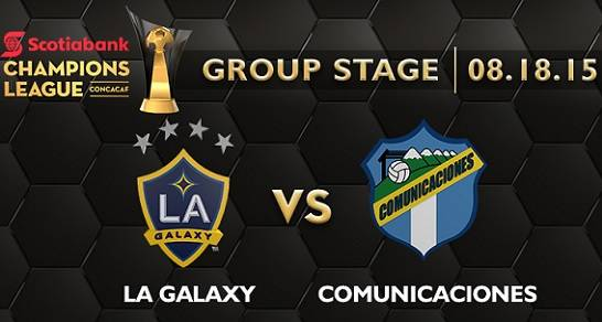 LA Galaxy vs Comunicaciones