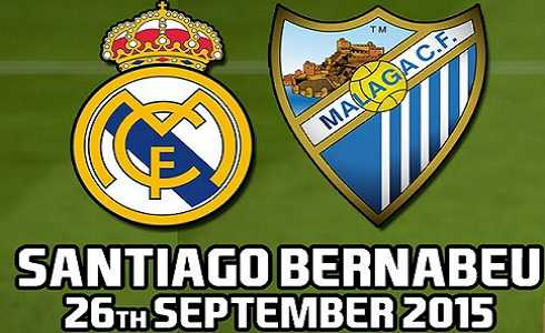 Real Madrid vs Málaga