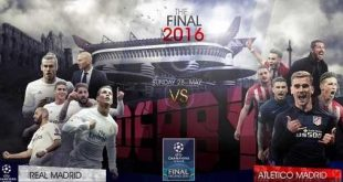 Real Madrid vs Atlético de Madrid Final Champions 2015-2016 – Fecha, Hora, Canal TV, Transmisión Online