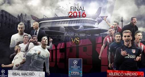 Real Madrid vs Atlético de Madrid Final Champions 2015-2016