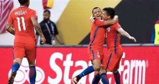 Chile vence 2-0 a Colombia