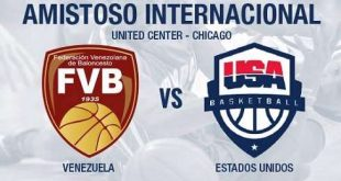 Estados Unidos 80-45 Venezuela [Vídeo Resumen] Amistoso Basketball 2016