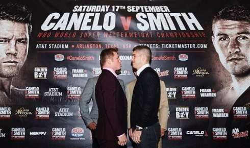Canelo Álvarez vs Liam Smith