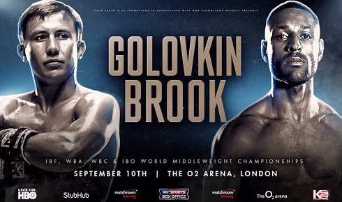Gennady Golovkin vs Kell Brook