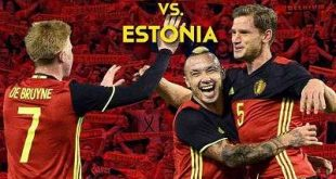 Resultado: Bélgica vs Estonia [Vídeo Goles Hazard, Carrasco, Lukaku – Resumen] Eliminatorias UEFA 2018