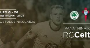 Resultado: Panathinaikos vs Celta [Vídeo Goles – Resumen] Jornada 6 Europa League 2016-17