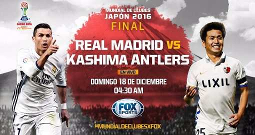 Real Madrid vs Kashima