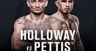 Max Holloway vs Anthony Pettis