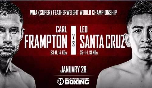 Leo Santa Cruz vs Carl Frampton