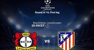 Bayer Leverkusen vs Atlético de Madrid