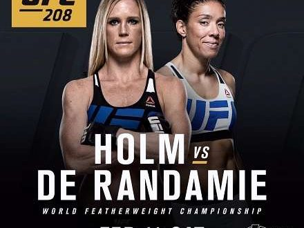 UFC 208: Holly Holm vs Germaine de Randamie [Vídeo Repetición – Ganador] Pelea 2017