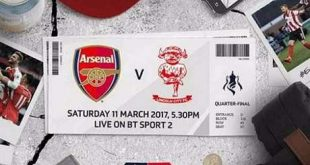 Arsenal vs Lincoln City