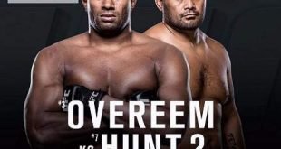 UFC 209 Alistair Overeem vs Mark Hunt