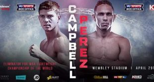 Darleys Pérez vs Luke Campbell
