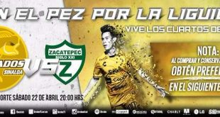 Dorados vs Zacatepec