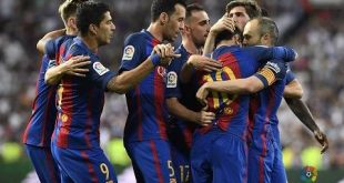Messi le da la victoria al Barcelona 3-2 Real Madrid