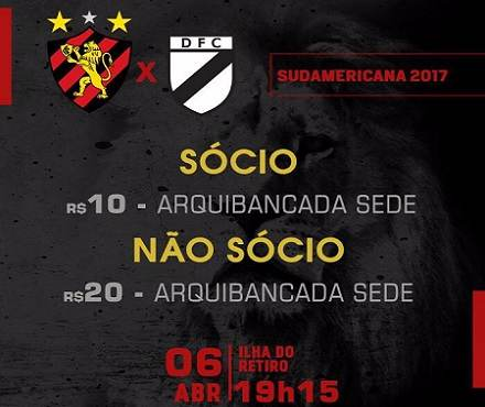 Sport Recife vs Danubio