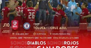 Toluca vs Cruz Azul