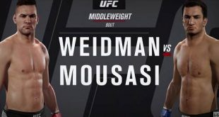 Chris Weidman vs Gegard Mousasi