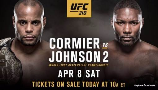 UFC 210: Daniel Cormier vs Anthony Johnson [Vídeo – Repetición] Cobertura, Resultado, Ganador Pelea 2017