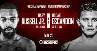 Oscar Escandón vs Gary Russell Jr