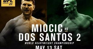 Stipe Miocic vs Junior dos Santos