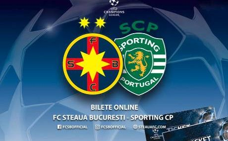 Resultado: Steaua vs Sporting Lisboa [Vídeo Goles – Resumen] PlayOff Champions League 2017-2018