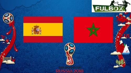 ¡España 2 - 2 Marruecos del Mundial 2018 de Fútbol! ¡Final del partido!