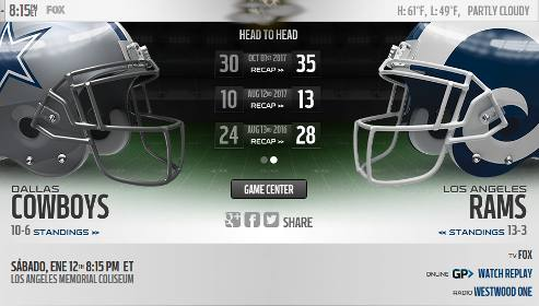 Resultado Los Angeles Rams Vs Dallas Cowboys Video Resumen Donde