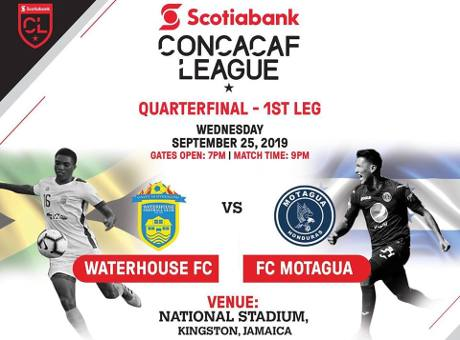 Image result for liga concacaf waterhouse motagua