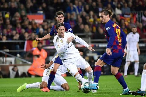 Partido barcelona vs real madrid 2020